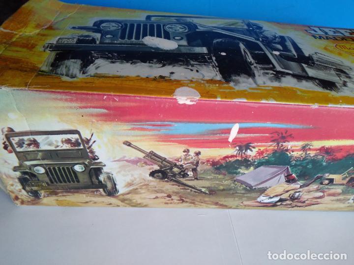 Madelman: caja con jeep verde asientos duros madelman original - Foto 2 - 288874343
