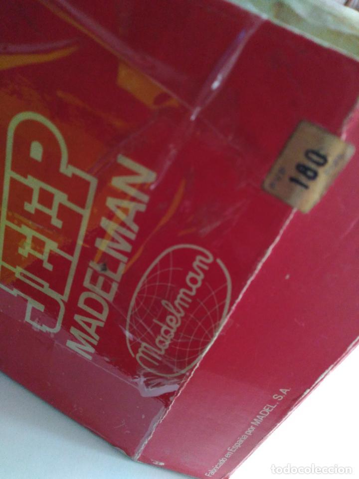 Madelman: caja con jeep verde asientos duros madelman original - Foto 3 - 288874343