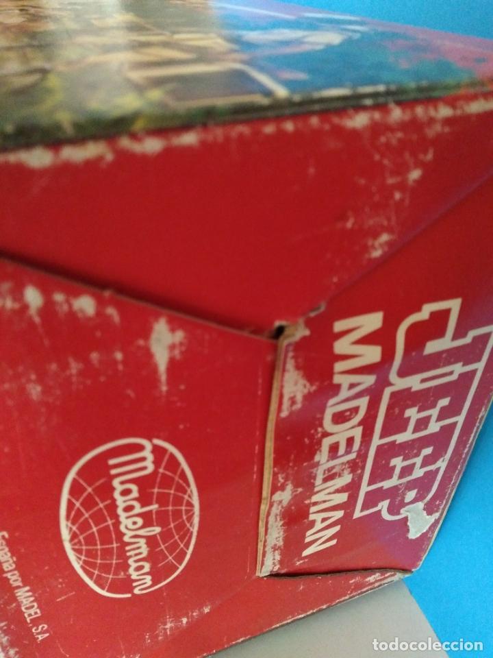 Madelman: caja con jeep verde asientos duros madelman original - Foto 4 - 288874343
