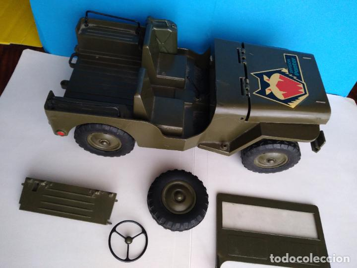 Madelman: caja con jeep verde asientos duros madelman original - Foto 6 - 288874343