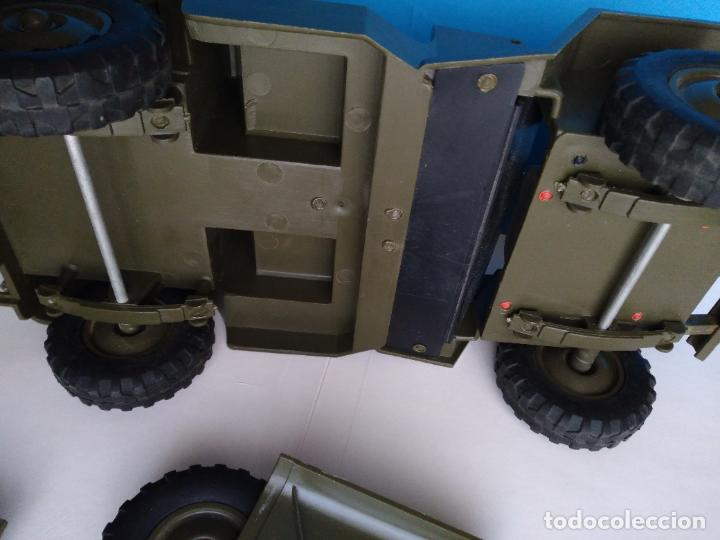 Madelman: caja con jeep verde asientos duros madelman original - Foto 8 - 288874343