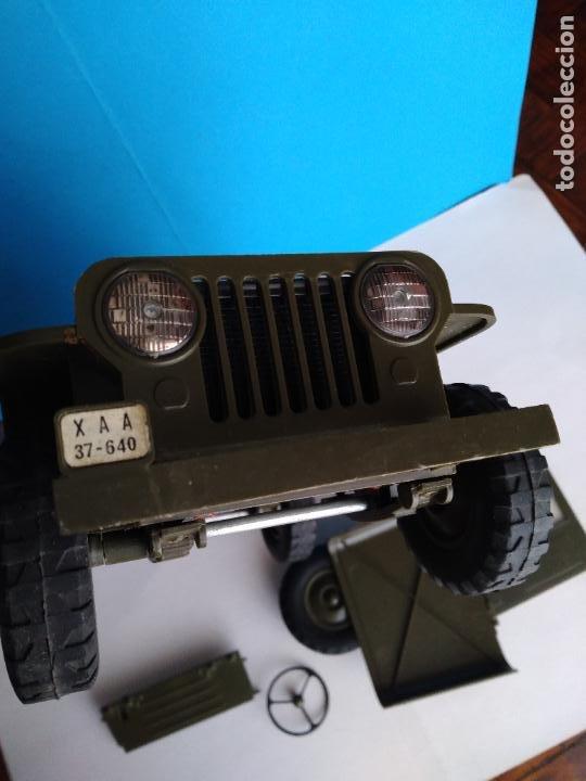 Madelman: caja con jeep verde asientos duros madelman original - Foto 9 - 288874343