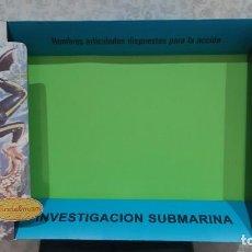 Madelman: CAJA MADELMAN SUPER EQUIPO , INVESTIGACION SUBMARINA .. Lote 289836448