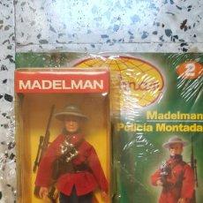 Madelman: POLICIA MONTADA CANADA + FASCICULO 2 POPULAR DE JUGUETE NUEVO SIN JUGAR. Lote 293263853