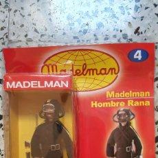 Madelman: HOMBRE RANA + FASCICULO 4 ALTAYA NUEVO SIN JUGAR. Lote 293264908