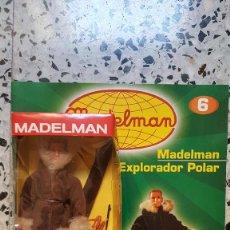 Madelman: EXPLORADOR POLAR + FASCICULO 6 ALTAYA NUEVO SIN JUGAR. Lote 293265318