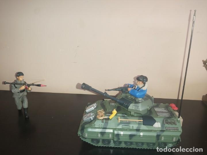 Madelman: Madelman MDE lote diorama antitanque aleman con tanque. Segunda Guerra Mundial WWII - Foto 4 - 293596123