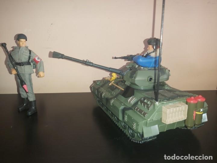 Madelman: Madelman MDE lote diorama antitanque aleman con tanque. Segunda Guerra Mundial WWII - Foto 9 - 293596123