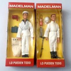 Madelman: LOTE 2 MUÑECOS MADELMAN DE ALTAYA: MARINERO Y ESPELEOLOGO. Lote 293978903