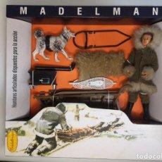 Madelman: MADELMAN ORIGINAL AÑOS 70 EQUIPO BASICO ESQUIMAL EXPEDICION POLAR. Lote 295814663