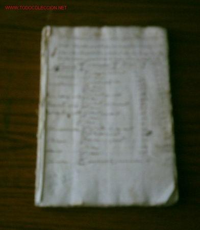 MANUSCRITO DE AGRIMENSURA .. VILLA DE YANGUAS . OPISCAPAL DE CALAHORA (Coleccionismo - Documentos - Manuscritos)