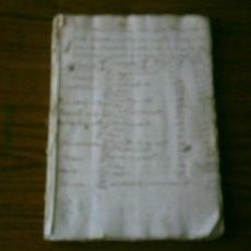 Manuscritos antiguos: MANUSCRITO DE AGRIMENSURA .. VILLA DE YANGUAS . OPISCAPAL DE CALAHORA. Lote 13725695