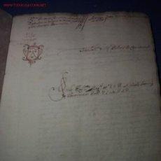 Manuscritos antiguos: MANUSCRITO 1693-ARGENTONA-CABRERA-MATARÓ-SANTA MARIA DEL CARMEN. Lote 22378084