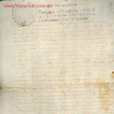Manuscritos antiguos: MANUSCRITO Nº 47 - S. XVIII - AÑO 1703 - . Lote 15099284