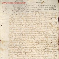 Manuscritos antiguos: MANUSCRITO Nº 76 - S. XVII - AÑO 1694 -. Lote 27545941