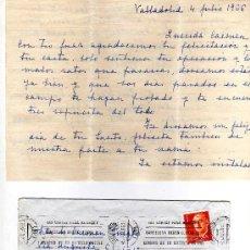 Manuscritos antiguos: CARTA MANUSCRITA FECHADA EN 1966 - DE VALLADOLID A BARCELONA. Lote 7250654