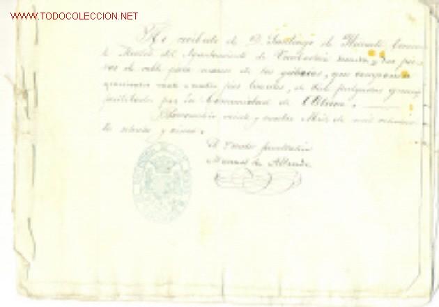 LOTE DE ALABA - MINERÍA .. 1851 - 1865 - 1875 (Coleccionismo - Documentos - Manuscritos)
