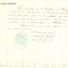 Manuscritos antiguos: LOTE DE ALABA - MINERÍA .. 1851 - 1865 - 1875. Lote 13419712