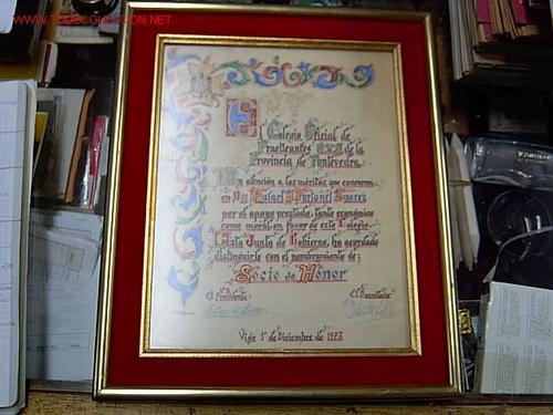 a00a49acdd5b Documento titulo a - rafael portanet suarez - - Vendido en Venta ...