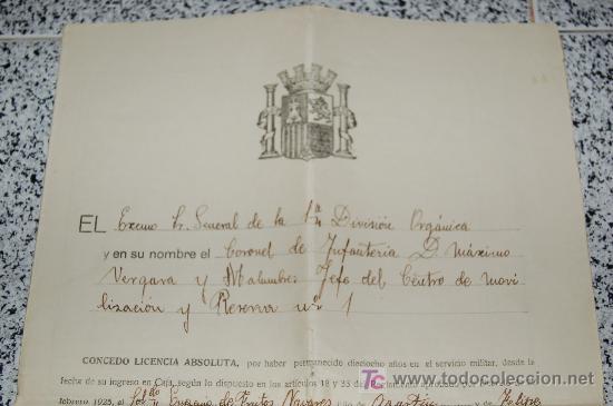 Manuscritos antiguos: MINISTERIO DE LA GUERRA - JUNTA CALIFICADORA DE ASPIRANTES A DESTINOS PUBLICOS AÑO 1933 - Foto 3 - 26615984