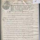 Manuscritos antiguos: MANUSCRITO HERENCIA ESCRITA EN MANRESA PAPER SELLAT PAPEL SELLADO AÑO 1776 EN CATALA SELLO PRIMERO. Lote 14018296