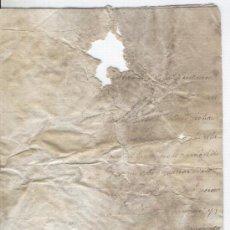 Manuscritos antiguos: GUERRA DE LA INDEPENDENCIA AÑO 1814 MANUSCRITO DEL PRESIDENTE VALENTIN LLOZER CALDERS. Lote 14018572
