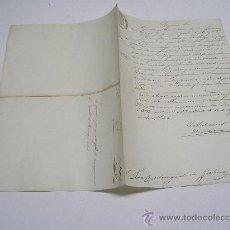 Manuscritos antiguos: MANUSCRITO 4 AGOSTO 1846 . APROBACIÓN PRESUPUESTO PARA RECOMPOSICIÓN DEL CUARTEL D MACANAZ EN CORUÑA. Lote 24854144