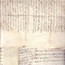 Manuscritos antiguos: LOTE DE 4 MANUSCRITOS ITALIANOS PRINCIPIOS SIGLO XIX . Lote 20959127