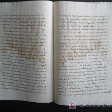 Manuscritos antiguos: DECRETO AÑO 1780. POR LA GUERRA AUMENTO CONTRIBUCION GRAVAR EN LICORES VINO Y SAL. Lote 23502936