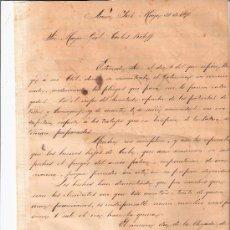 Manuscritos antiguos: 1878 ORIGINAL CARTA GENERAL ANTONIO MACEO ESCRITA FIRMADA ISLA CUBA DOCUMENTO GUERRA MASON ROLOFF. Lote 20204593