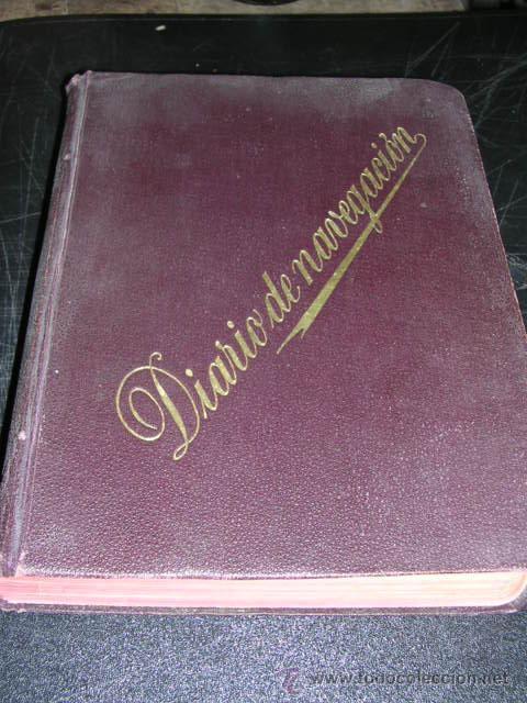 Manuscritos antiguos: CUADERNO DE BITACORA,DIARIO DE NAVEGACION,11 ENERO 1907- 17 ABRIL 1908,CORBETA SAN PEDRO,Y VAPOR - Foto 2 - 18038988