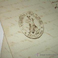 Manuscritos antiguos: DOS MANUSCRITOS DE LA ALCADIA DE .....CASTELLGALI...AÑO 1.893. Lote 25706327