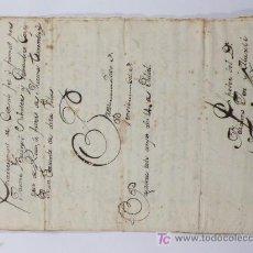 Manuscritos antiguos: REUS, AÑO 1761. ENCARREGAMENT CENSAL, 6 HOJAS MANUSCRITAS. . Lote 18680635