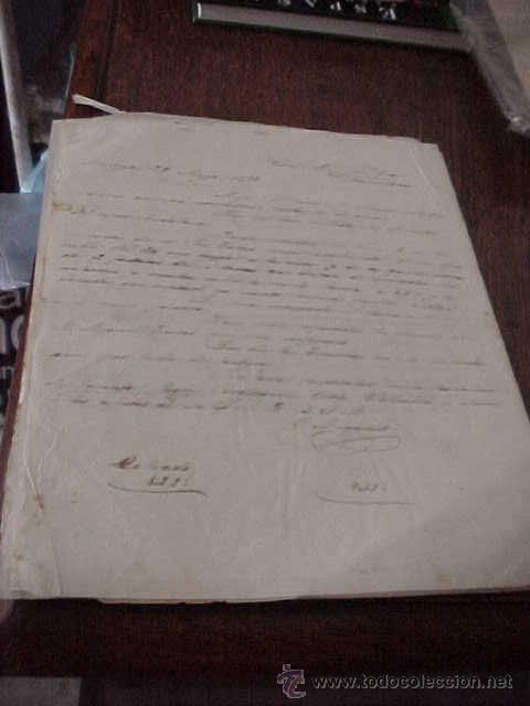 CARTAS COMERCIALES MANUSCRITAS AÑO 1872 (Coleccionismo - Documentos - Manuscritos)