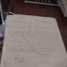 Manuscritos antiguos: CARTAS COMERCIALES MANUSCRITAS AÑO 1872. Lote 19919731