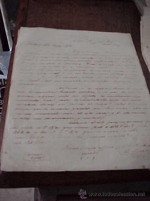 Manuscritos antiguos: CARTAS COMERCIALES MANUSCRITAS AÑO 1872 - Foto 2 - 19919731