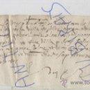 Manuscritos antiguos: RARO MANUSCRITO SIGLO XVI EN MALLORQUIN CATALAN RECIBO SOLLER AÑO 1523 RELIQUIA MALLORCA. Lote 23079800