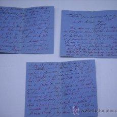 Manuscritos antiguos: CARTA MANUSCRITA DEL MILITAR GENERAL FRANCISCO MERRY CON MEMBRETE GUARDIA JALIFIANA.TETUAN 1940. Lote 23107973