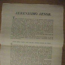 Manuscritos antiguos: CADIZ - BAILEN - GUERRA DE LA INDEPENDENCIA - 1808 - 1812. Lote 26330856