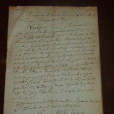 Manuscritos antiguos: DOCUMENTO DE OBISPADO DE URGEL 1914. CON DOS SELLOS RELIGIOSOS.... Lote 24249072
