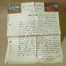 Manuscritos antiguos: CARTA, 1941, SUPLICA, JOSE FERRANDIZ BENLLIURE, EXPORTADOR DE FRUTAS Y HORTALIZAS, CABAÑAL, VALENCIA. Lote 26383259