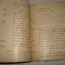 Manuscritos antiguos: EL REY SOÑADOR LEYENDA LIRICA EN UN ACTO Y TRES CUADROS Y EN PROSA ,ORIGINAL.. Lote 27540754