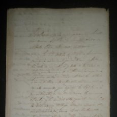 Manuscritos antiguos: CAUSA CRIMINAL A UN PARROCO PENDIENTE DE FALLO SOBRE ROBO DE CALIZ DE PLATA RELACIONES CON MUJERES . Lote 27623798