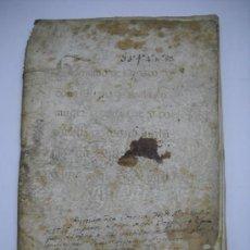 Manuscritos antiguos: MANUSCRITO- CARTA DE PRIVILEGIO EN PERGAMINO DADA EN LA VILLA DE MADRID 28 JUNIO DE 1621.27 FOLIOS-. Lote 27647955
