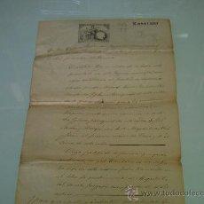 Manuscritos antiguos: JUZGADO MUNICIPAL PALAFRUGELL -LA BISBAL-GERONA- AÑO 1886 - . Lote 28798641