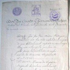 Manuscritos antiguos: ESCRITURA MANUSCRITA. MADRID 1921. ENVIO GRATIS¡¡¡. Lote 28273325