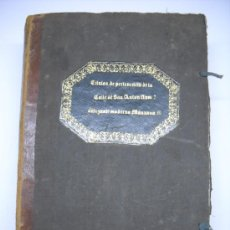 Manuscritos antiguos: DOCUMENTO MANUSCRITO- MADRID- TITULOS DE PERTENENCIA CALLE SAN ANTON Nº 7 MANZANA 317.800 FOLIOS. Lote 28405324
