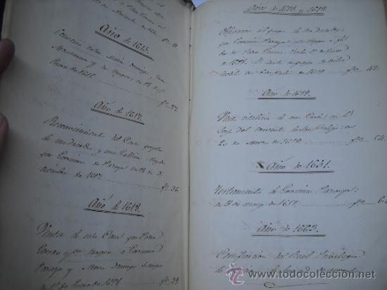 Manuscritos antiguos: DOCUMENTO MANUSCRITO- MADRID- TITULOS DE PERTENENCIA CALLE SAN ANTON Nº 7 MANZANA 317.800 FOLIOS - Foto 6 - 28405324