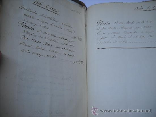 Manuscritos antiguos: DOCUMENTO MANUSCRITO- MADRID- TITULOS DE PERTENENCIA CALLE SAN ANTON Nº 7 MANZANA 317.800 FOLIOS - Foto 9 - 28405324