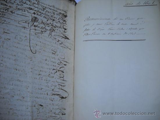 Manuscritos antiguos: DOCUMENTO MANUSCRITO- MADRID- TITULOS DE PERTENENCIA CALLE SAN ANTON Nº 7 MANZANA 317.800 FOLIOS - Foto 10 - 28405324
